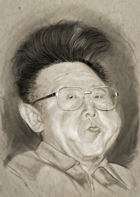 kim jong il by Mark Hammermeister